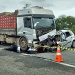 QUATRO PESSOAS MORREM EM ACIDENTE  NA BR-116; BEBÊ DE 09 MESES ESTÁ ENTRE AS VÍTIMAS