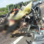 QUATRO MORTOS EM GRAVE ACIDENTE NA  BR-324, INTERIOR DA BAHIA