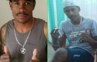 Reinan Santos Gomes (Macaco) e Edielson Silva de Macedo (Di).