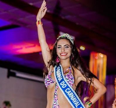Milena é a nova Rainha do Carnaval (Foto: Divulgação