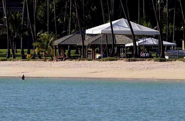 O presidente, a primeira-dama e o filho vão ficar hospedados na residência oficial da Marinha do Brasil na Praia de Inema
