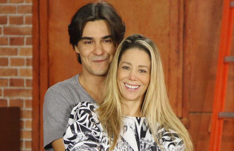 André Gonçalves e Daniele Winits foram dispensado pela emissora (Foto: Divulgação