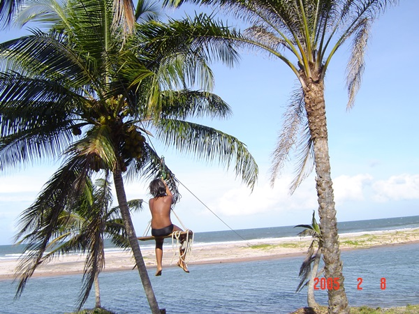 O  turismo de aventura na praia do Piracanga