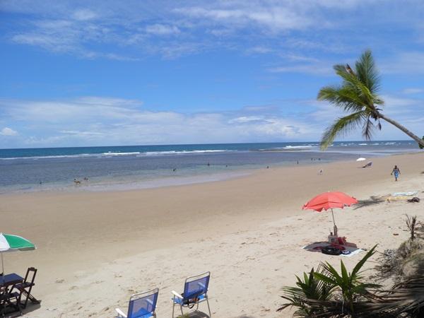 Praia de Algodões é muito visitada por turistas e veranistas