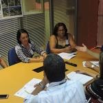 PREFEITA DE MARAÚ, GRACINHA VIANA PARTICIPA DE AUDIÊNCIA COM DIRETORIA DA COELBA EM SALVADOR