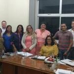 APLB   DE UBAITABA REALIZA  REUNIÃO COM PREFEITA EM SEU GABINETE
