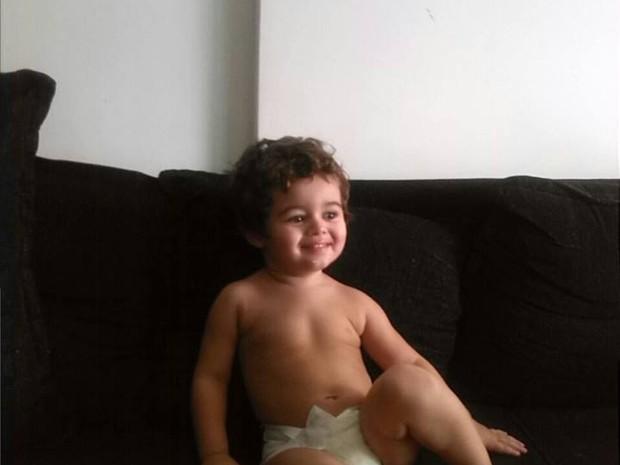 Yuri Martins Arroio, 4 anos, caiu do 16º andar de um prédio, em São Paulo (Foto: Arquivo pessoal/Facebook)