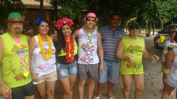 Os organizadores Humberto Hugo e Norma comemoraram o sucesso do Boco