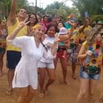 MARAU:  BLOCOS FIZERAM O ARRASTÃO DA ALEGRIA NA TERÇA FEIRA DE CARNAVAL NA PRAIA DE ALGODÕES