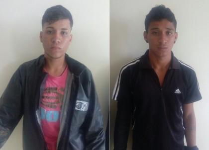 Dupla foi presa no distrito de Camamuzinho (Foto: Ubatã Notícias)