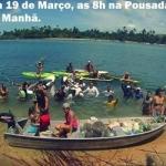 MARAÚ: SEGUNDA REMADA ECOLÓGICA ACONTECE NESTE DOMINGO (19),EM BARRA GRANDE