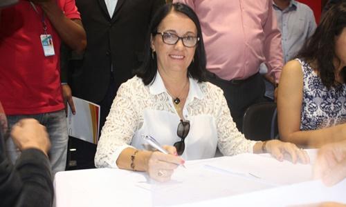 A prefeita Gracinha está no segundo mandato