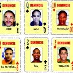 BARALHO DO CRIME TEM A RENOVAÇÃO DE SEIS CARTAS