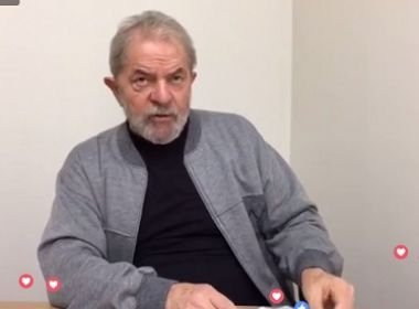 Foto: PrintScreen / Vídeo Fan Page Lula