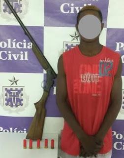 O  Lucas Pereira de Lima (Luquinhas), um infrator que é considerada uma pessoa fria e perigosa.