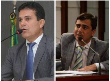 Troca de socos entre os deputados estaduais Eduardo Salles (PP) e Marcell Moraes (PV),