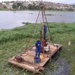 UBAITABA: EMPRESA REALIZA SONDAGEM DE SOLO PARA CONSTRUÇÃO DO CENTRO DE CANOAGEM