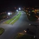 PREFEITURA DE UBAITABA  REALIZA SUBSTITUIÇÃO DE LÂMPADAS NO TREVO E EM  ALGUMAS RUAS DA CIDADE