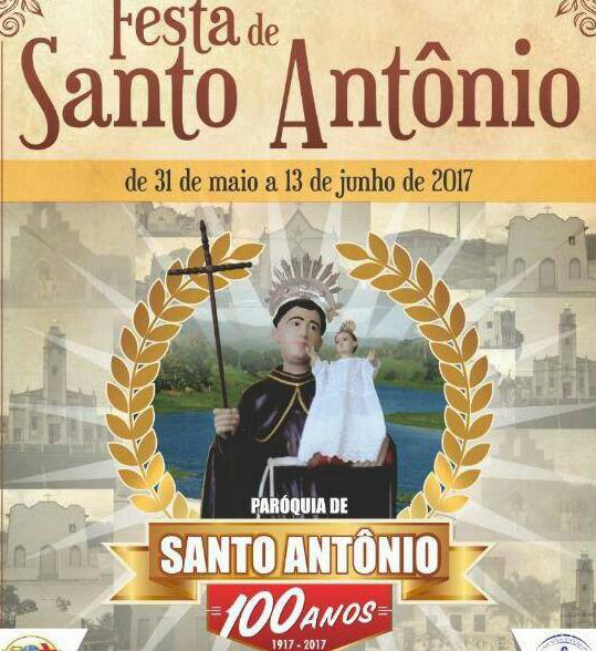 100 ANOS DA PARAOQUIA DE SANTO ANTOIO