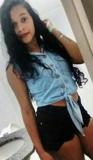 Natália Araújo Azevedo de 21 anos, estava no quintal quando foi baleada