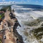 COSTA DO BRASIL É VULNERÁVEL A MUDANÇAS CLIMÁTICAS, APONTA RELATÓRIO