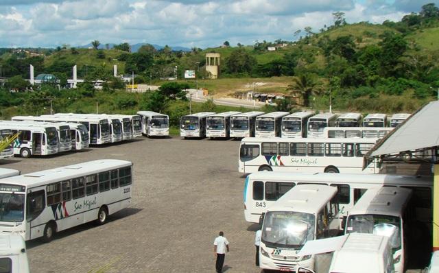 Ônibus não rodam em início de greve dos rodoviários em Itabuna (Foto Pimenta/Arquivo)