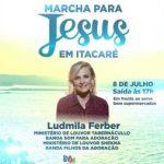 ITACARÉ REALIZARÁ DIA 08 DE JULHO A 8ª EDIÇÃO DA MARCHA PARA JESUS