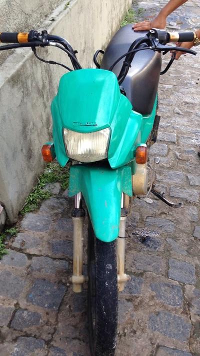 A moto se encontrava nas mãos do receptador em Faisqueira