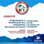 PREFEITURA DE ITACARÉ REALIZARÁ REUNIÃO DE TRABALHO COM CONDUTORES DE VISITANTES