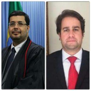 O Corregedor do TRE Fabio Alexsandro Costa Bastos e o Juiz Diego Freitas Ribeiro são os relatores dos processos