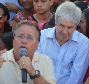 O ex-prefeito Bêda e Géddél ambos do PMDB tinham grande afinidade