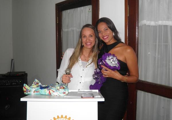 Jaqueline se despede da Casa da Amizade e passa o cargo para Liz Chagas (foto: Norma Ribeiro)