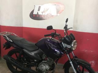 A moto foi tomada de assalto próximo a Taboquinhas