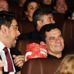 MORO E BRETAS VÃO À PRÉ-ESTREIA DE FILME SOBRE A LAVA JATO