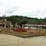 MARAÚ: OBRA DE RECONTRUÇÃO DE PRAÇA  EM DISTRITO DE IBIAÇU ESTÁ ACELERADA