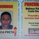 OITO DE  COPAS DO BARALHO DO CRIME É PRESO