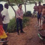 PREFEITURA DE ITAGIBÁ FISCALIZA E EMBARGA EXTRAÇÃO ILEGAL DE AREIA NO RIO DE CONTAS