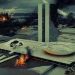 ABERTURA DA NOVELA 'APOCALIPSE' MOSTRA BRASÍLIA EM CHAMAS