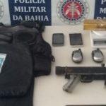 GAROTO DE 13 ANOS É APRENDIDO COM SUBMETRALHADORA DE USO EXCLUSIVO DAS FORÇAS ARMADAS