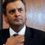 AÉCIO NEVES PRESTA DEPOIMENTO NA SUPERINTENDÊNCIA DA POLÍCIA FEDERAL