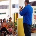 UBAITABA: PROJETO FAMÍLIA NA ESCOLA LEVA CRECHE A AMPLIAR HORTA COMUNITÁRIA