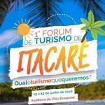 ITACARÉ REALIZARÁ EM JUNHO O 1º FÓRUM DE TURISMO