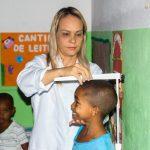 SAÚDE DE ITACARÉ REALIZA AÇÃO COM CRIANÇAS EM CRECHE DO BAIRRO NOVO