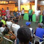 PREFEITO DISCUTE COM AMBULANTES DETALHES DA MICARETA DE TABOQUINHAS