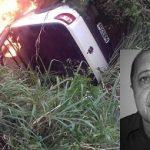 IBIRAPITANGA DE LUTO: MORRE EX-VEREADOR IVAN LIMA EM GRAVE ACIDENTE  NA BR-101