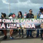 MOTOCICLISTAS  FAZEM ATO CONTRA USO DE CEROL EM LINHAS DE PIPA