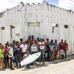 PRODUÇÃO DO JUACAS DOA MATERIAIS PARA O CENTRO CULTURAL DE TABOQUINHAS