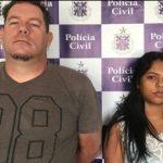 POLÍCIA PRENDE CASAL ACUSADO DE ROUBAR R$ 200 MIL EM SAIDINHA BANCÁRIA EM POÇÕES