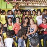 ITACARÉ: PROJETO LEVA MÚSICA E ARTE PARA OS ALUNOS DAS CRECHES DE ITACARÉ