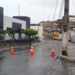 UBAITABA: POSTES CAEM NA AV. VASCO NETO E INTERROMPE PROVAS DO ENEM